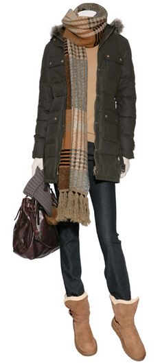 winter casual outfit