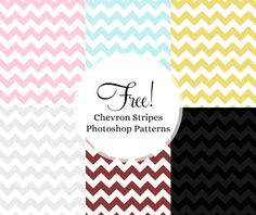 free chevron stripes photoshop patterns - looooove this!  even some for commercial use :)