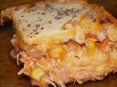Torta de Milho com Frango - http://cybercook.terra.com.br/receita-de-torta-de-milho-com-frango-r-13-15534.html