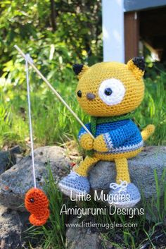 Amigurumi Pattern - Spencer the Kitty pattern on Craftsy.com