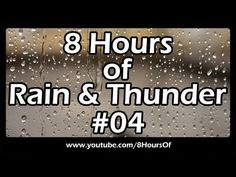 8 Hours of relaxing morning rain and thunder. If you listen to this during sleep or meditation you will feel peaceful and calm. Great for tinnitus, meditation, yoga, when you study, go to sleep, have insomnia or have sleep deprivation.  Please like, subscribe and comment if you enjoyed this video. It will really help me out a lot. :)  http://www.youtube.com/subscription_center?add_user=8hoursof #meditation #sleep #yoga #tinnitus #health