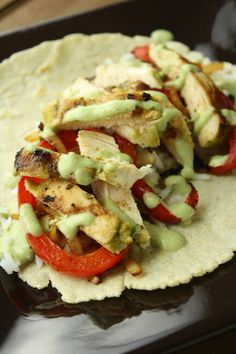 No Gluten, No Problem: Recipe: Cilantro Fajita Chicken