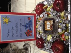 For the teachers' lounge today. Teacher appreciation at CCS.