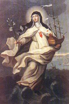 St. Maria de Cerevellon pray for us and against shipwrecks.  Feast day September 19.