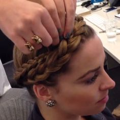 How to do a crown braid