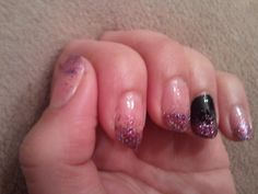 just finished my newest nail idear <3
