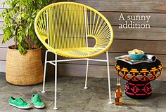 Brighten Your Backyard: Colorful Outdoor Furniture & More