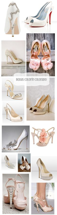 - Bodas Colorín Colorado -: - Zapatos de Lujo para Novias Elegantes