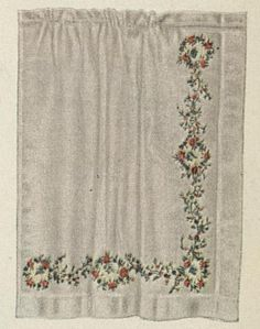 Curtains a Hundred Years Ago. Source: Ladies Home Journal (July, 1913)