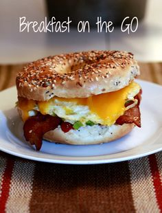 Breakfast on the Go