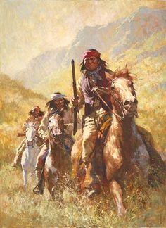 Howard Terpning - Legend Of Geronimo - Hidden Ridge Gallery
