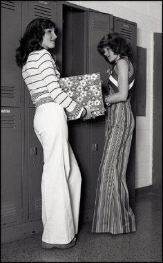 High school 70's style.