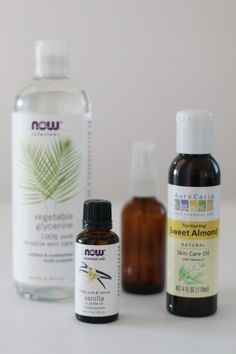 Delighted Momma: DIY Vanilla Cream Dry Oil Body Spray (Non-Greasy)