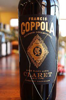 Francis Ford Coppola Diamond Collection Black Label Claret $13