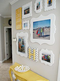 14 Gorgeous Family Photo Walls -- See the Pictures! | iVillage.ca