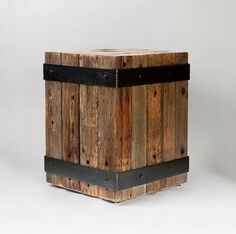 Make your own for a planter out of pallets or other reclaimed wood.