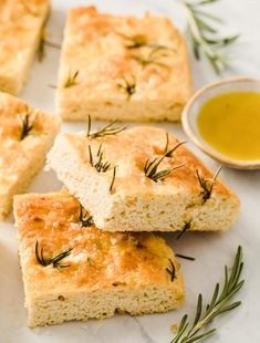 Gluten Free Keto Focaccia Bread – Sugar Free Londoner - Use inulin instead of sugar, fewer carbs and mostly fiber.