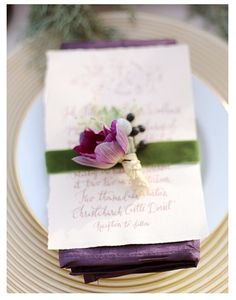 Lovely table settings, wedding invitations, spring tabl, backyard weddings, radiant orchid invitations