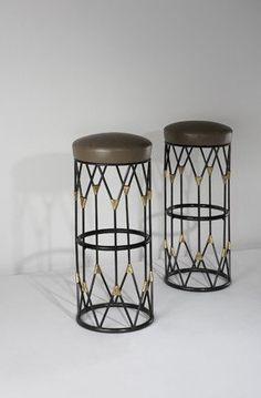 Jean Royere bar stools