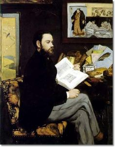 Edouard Manet - Portrait of Emile Zola 1868