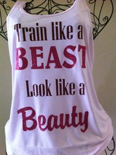 Inspirational workout bling!
