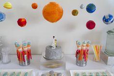 solar system backdrop