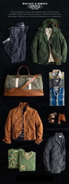Some great essential pieces to add to his wardrobe.