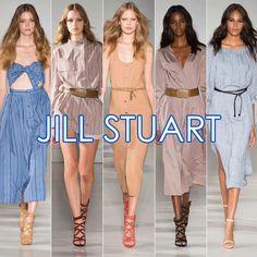 THE BEST OF NYFW: JILL STUART'S FEMININE TAKE ON '70S UTILITARIAN COOL