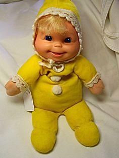 Mattel Doll, Baby Beans, 1970's