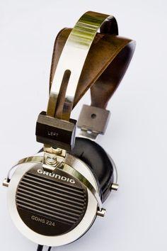 Grunding GDHS 224 #headphones #audio #music #design #industrial #wood #metal
