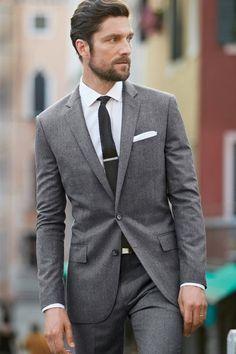 Suit + Knit Tie