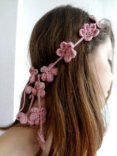 free tutorial for a flower headband