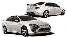 2013 Ford Falcon is likely to be Front Wheel Drive
