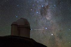 Nova Centauri 2013, as it appears in the morning night sky. Credit: ESO/Y. Beletsky