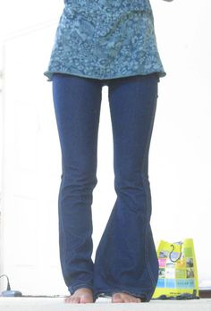 Turn Your Old Flares into Skinny Jeans!