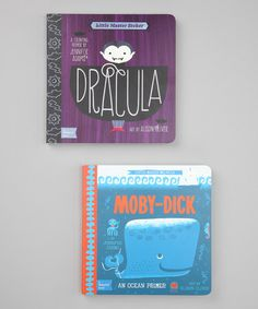 Dracula & Moby Dick Board Books by BabyLit