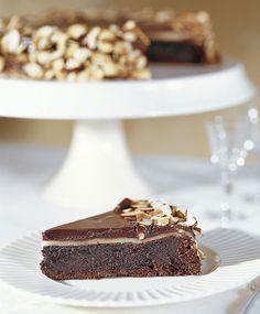 flourless chocolate almond cake - gluten free!
