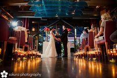 aisle candles