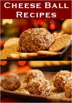 20+ Cheese Balls To Make: {Both Basic & Gourmet-Style}