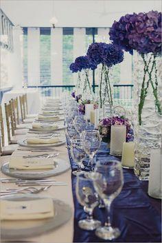 Engagement On Pinterest Blue Table Settings Sapphire