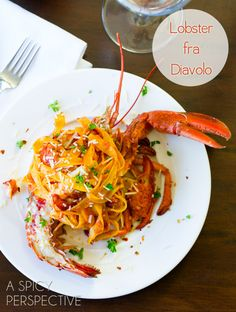 Lobster Recipes - Lobster Fra Diavolo @Niki Sommer | A Spicy Perspective