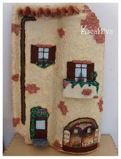 teja decorada, kulübeminyatür evler