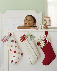 homemade felt stocking ideas