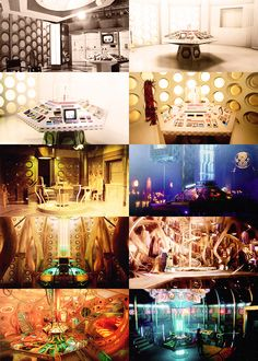 The Control Room Through the Years