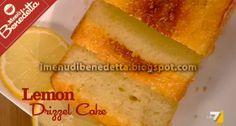 Lemon Drizzle Cake di Benedetta Parodi