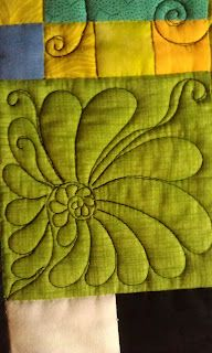 Deborah Louie Domestic Machine Quilting Tutor: One finishes and another starts