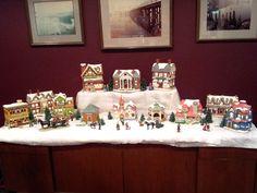 Christmas Village christma villag, christma everyday, christmaswint decor, christma decor, christmas villages, counti christma, christma bit
