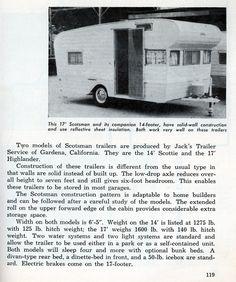 scotsman travel trailer | 1959 Vintage Scotsman Trailers