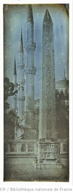 Constantinople. Hyppodrôme : [photographie] / Joseph Philibert Girault de Prangey