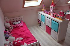 Kamer ja on pinterest fairy bedroom girl rooms and stuffed animal storage - Scheiding tussen twee kamers ...